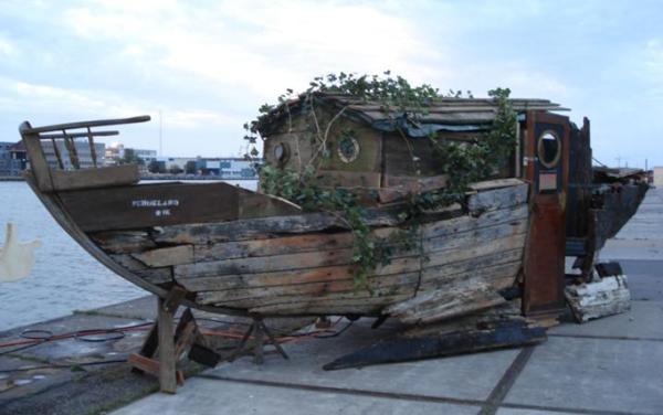 schoklandboot